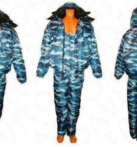 Зимний костюм комуфляж .Торг уместен