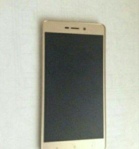 Дисплей с рамкой для Xiaomi Redmi3S