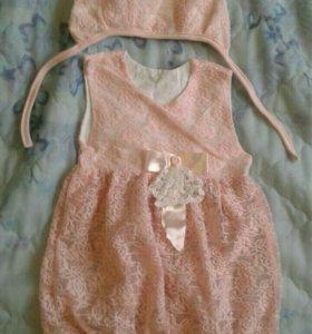 Платье для девочки. Размер 62