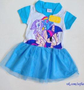 Платье новое на 3 года