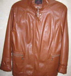 Куртка из экокожи в отличном состоянии