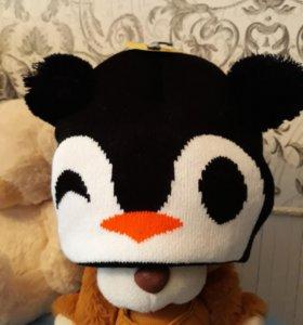 Новая шапочка пингвин