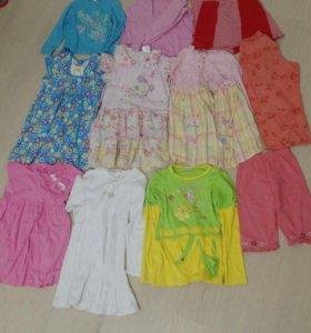 Платья на девочку 110-116 рост