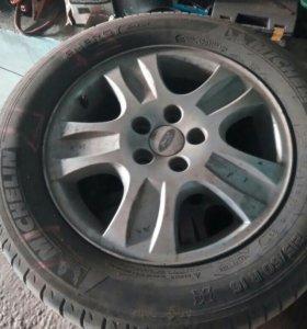 Диски с резиной, диски форд разноска 108