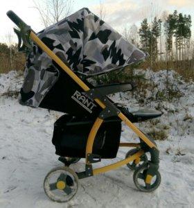 Утеплённая прогулочная коляска