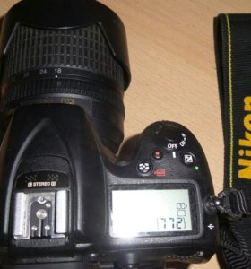 Nikon d7200 18-105
