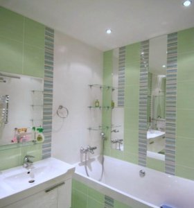 Ремонт ванн под ключ +сантехника