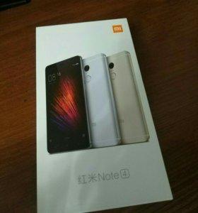 Телефон Xiaomi Redmi Note 4 3/64гб