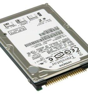 "Жесткий диск IDE 2,5"" Hitachi 120Gb"