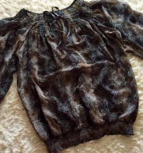 Шифоновая блуза Zara