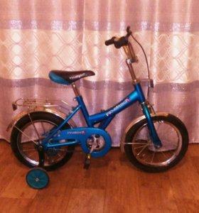 Велосипед Новый 3-6лет