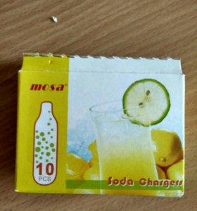 Баллончики для сифона лимонада