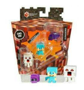 Игровые Наборы Minecraft из 3х фигурок❄