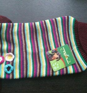 Новый свитер для собак р. М