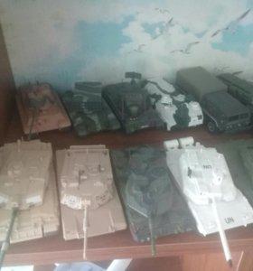 Реальные модели танков