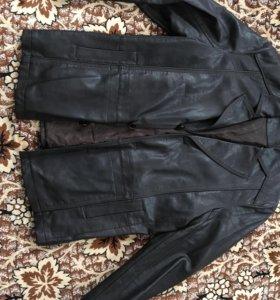 Пиджак кожзам