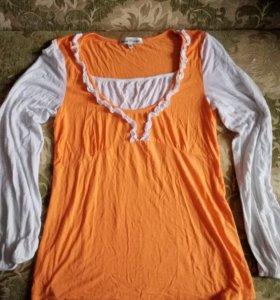 Кофта блузка туника для беременных