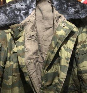 Куртка зимняя новая флора