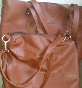 Большая сумка+маленькая