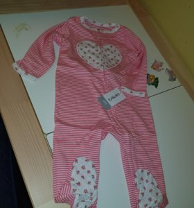 Комбинезон Картерс Carters пижама поддева домашняя