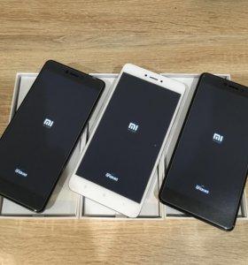 Телефоны Xiaomi redmi note 4x -3/16гб