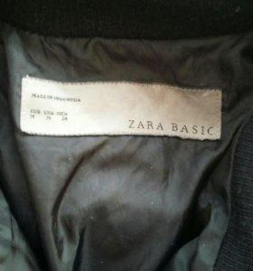 Пуховик-пальто Zara.