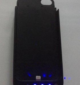Чехол аккумулятор iPhone 5/5s