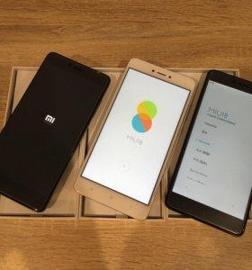 Xiaomi redmi note 4x 16gb телефоны новые