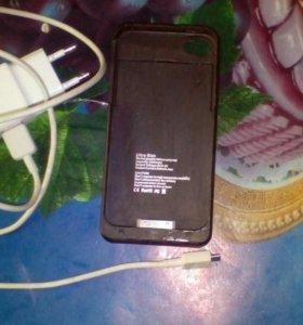 Чехол- аккумулятор iphon 4