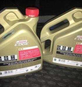 Продам масло Castrol EDGE 0w -30