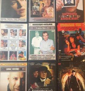 DVD диски: фильмы, сериалы