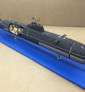 Модели подводных лодок, надводных кораблей