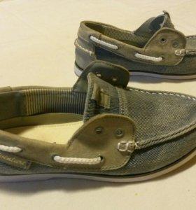 Туфли джинсовые женские 36 р.