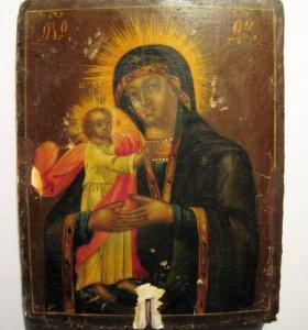 Икона Богоматери 1848 год