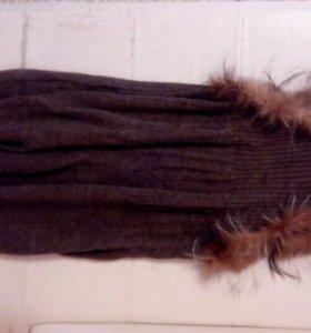 Платье зима 44р