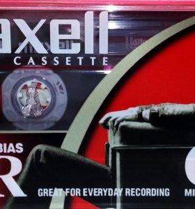 Аудиокассеты Maxell UR-60(2002г.)