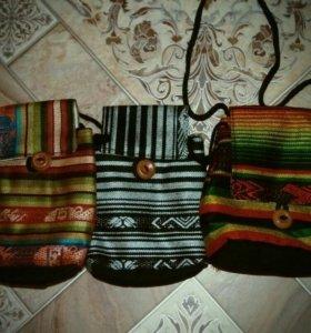 Сумки, ключницы с Эквадора