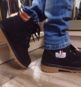 Обувь. Зимние ботинки детские