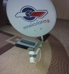 Спутниковая антенна триколор и ресивер