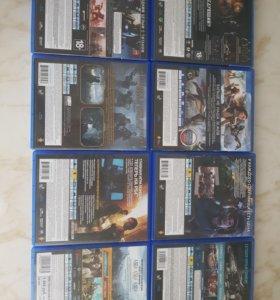 Игры для PS4.