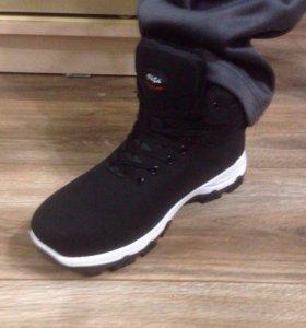 Обувь.Мужские зимние кроссовки на меху