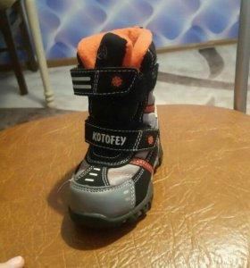 Продам новые зимние ботиночки