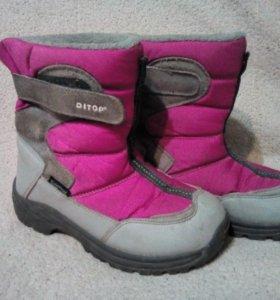 Ботинки зимние Ditop мембрана