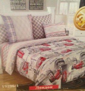 Комплект постельного белья 1.5-спальный Лондон