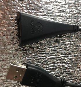 USB-удлинитель Logitech