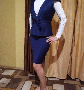 Костюм с юбкой Monica Ricci (бренд)