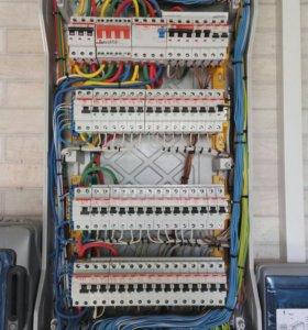 Элетромонтажные работы в домах и офисах. Электрик