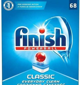 Таблетки для посудомоечных машин Finish 68 штук