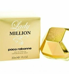 Парфюмерная вода Paco Rabanne Lady Million 30 мл
