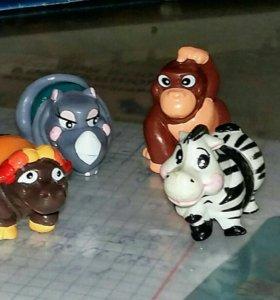 Животные на шарнирах
